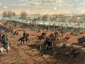 Thure_de_Thulstrup_-_L._Prang_and_Co._-_Battle_of_Gettysburg_-_Restoration_by_Adam_Cuerden_cropped