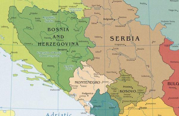 karta bosne i srbije Ako ne želimo rat, BiH treba mirno podijeliti između Hrvatske i  karta bosne i srbije