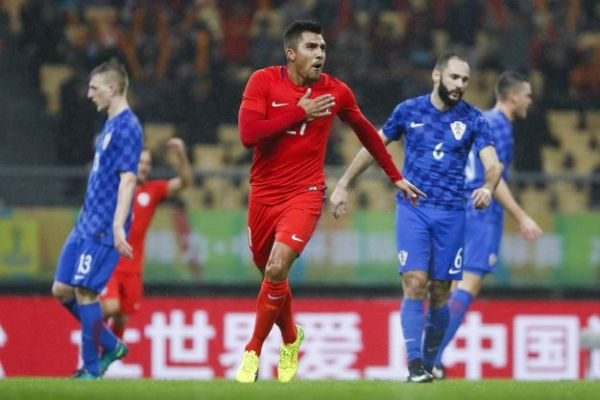 2017 China Cup International Football Championship - Croatia v Chile