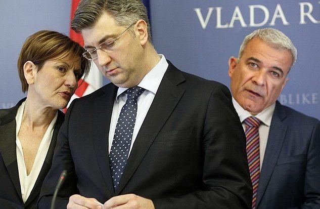 Image result for ramljak dalić plenković